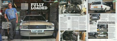 Classic Ford magazine article